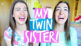 getlinkyoutube.com-Meet My Twin Sister! Twin Tag | MayBaby