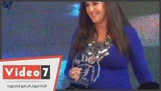 getlinkyoutube.com-بالفيديو.. شاهد « دنيا سمير غانم » بعد ظهور علامات الحمل بحفل « دير جست »