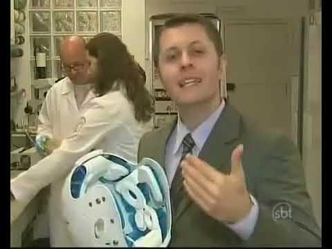 SBT Jornal da Noite Capacete com resfriamento pode evitar traumatismo craniano