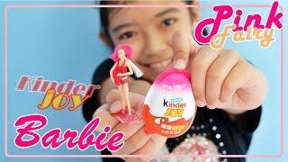 getlinkyoutube.com-ของเล่นแกะไข่อีสเตอร์ บาร์บี้ Kinder Joy Surprise Eggs Barbie
