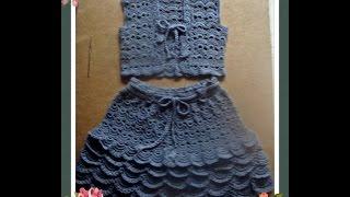 getlinkyoutube.com-Дополнение к уроку по вязанию жилета для девочки.