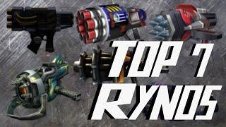 getlinkyoutube.com-Ratchet & Clank Series TOP 7 R.Y.N.O.s - Best R.Y.N.O.