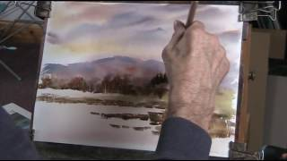 getlinkyoutube.com-In memory of Ron Ranson. Back to basics with Big Brush Watercolour