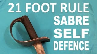 getlinkyoutube.com-21 Foot Rule - Drawing the Sword for Self Defence - Sabre