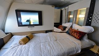 getlinkyoutube.com-Complete Etihad First Class Apartment Experience onboard A380 from London to Abu Dhabi