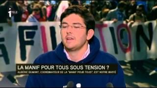 Interview d'Albéric Dumont (Manif Pour Tous) :