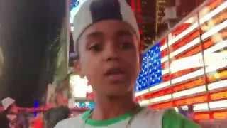 getlinkyoutube.com-Keven y Hensy AMOR DE PRIMARIA Keven desde Times Square NY