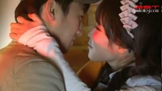 getlinkyoutube.com-[Vietsub - 2ST] Dream High BTS - Milky Couple Kiss Scene