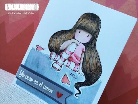 Tarjeta de San Valentin, Yo Creo En El Amor con Gorjuss