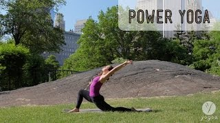 getlinkyoutube.com-Power Yoga Routine: Inner Fortitude (intermediate level)