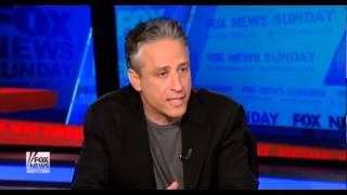 getlinkyoutube.com-Jon Stewart Vs  Chris Wallace On Fox Bias extended version