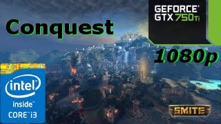 getlinkyoutube.com-(Smite (Conquest))(Ultra)(500$ PC Build Test) - i3 4150 - GTX 750 ti - 1080p 60Fps