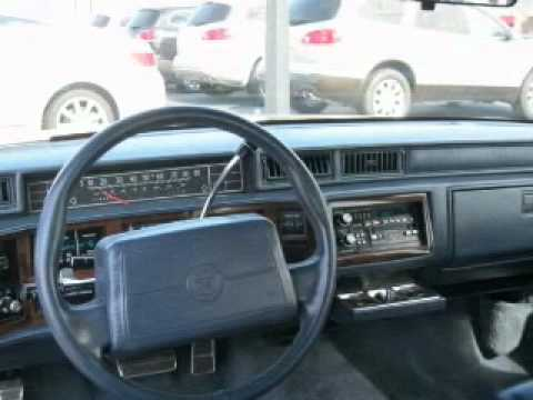 1991 Cadillac DeVille Problems, Online Manuals and Repair Information