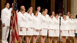 getlinkyoutube.com-Navy Band Sea Chanters sing patriotic music
