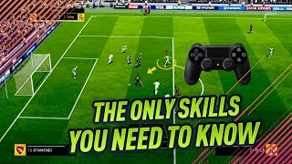 THE ONLY SKILL MOVES YOU NEED TO KNOW IN FIFA 18 - EASY & EFFECTIVE TUTORIAL width=