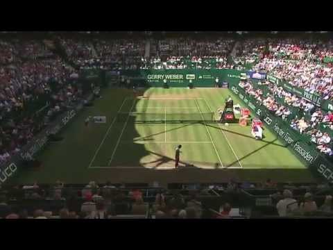 Roger Federer Wins 7th Hale Title By Beating Falla In 2014 Final
