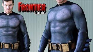 getlinkyoutube.com-Batman Dawn Of Justice Bodysuit by Frontier Costuming: Unboxing & Review!