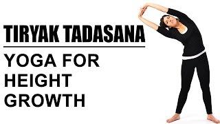 getlinkyoutube.com-Tiryak Tadasana : Yoga For Height Growth