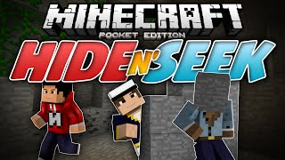 getlinkyoutube.com-RUN FOR YOUR LIFE!!! - Hide N Seek (Block Hunt) MCPE  - Minecraft PE (Pocket Edition)