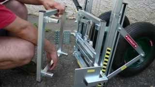 getlinkyoutube.com-Kaptárlift konténeres kaptárakhoz