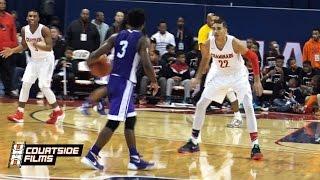 getlinkyoutube.com-Duke Commit Jayson Tatum vs. UConn Commit Alterique Gilbert | CRAZY Overtime Battle In Chicago!