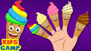 getlinkyoutube.com-Ice Cream Finger Family Song | Finger Family Rhymes & Baby Songs by Kidscamp