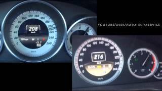 getlinkyoutube.com-Mercedes E220 CDI vs E250 CDI BlueTec W212 0-200