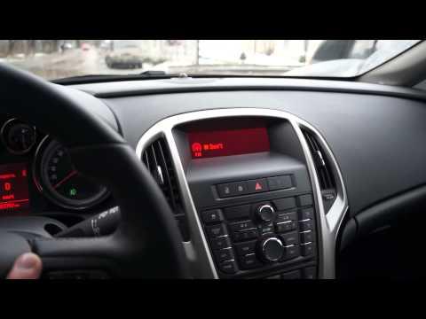 Работа управления кнопок на руле astra j