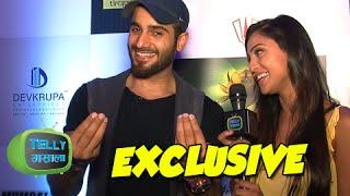 getlinkyoutube.com-Karan Tacker Krystle D souza Together | INTERVIEW | Mumbai Warriors