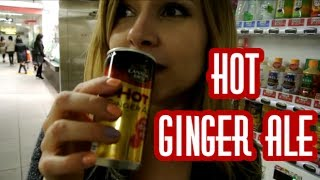 HOT Japanese Vending Machines: Hot Ginger Ale!!