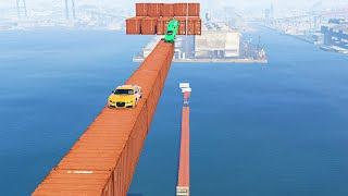 getlinkyoutube.com-EXTREME WATER CONTAINER STUNT! (GTA 5 Funny Moments)