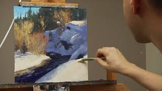 getlinkyoutube.com-How to paint snow with Gabor Svagrik