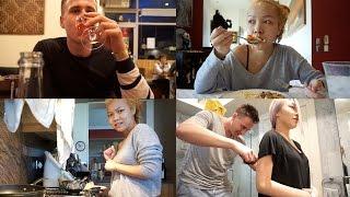getlinkyoutube.com-VLOG | วันว่างๆกับปอ, ทำอาหาร, โดนผีหลอก?!, แฟนตัดผมให้, ดินเนอร์