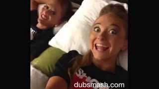 getlinkyoutube.com-Twin sisters Dubsmash montage! #hotel @sam_rybka @teagan_rybka