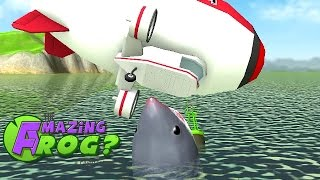 getlinkyoutube.com-THE AMAZING FROG? - Blimp Versus Mega Shark - Part 15