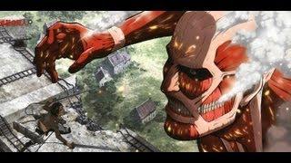 getlinkyoutube.com-Shingeki No Kyojin Eren Vs Titan Colosal