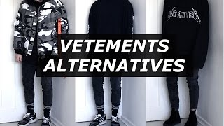 getlinkyoutube.com-Vetements Affordable Alternatives | Mens Fashion, Streetwear, Luxury, 2017 | Gallucks