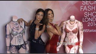 getlinkyoutube.com-Victoria's Secret Adriana Lima, Alessandra Ambrosio Debut Dream Angels $2 Million Fantasy Bras