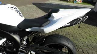getlinkyoutube.com-Yamaha R1 RN12 2004 2005 2006 white with toce exhaust