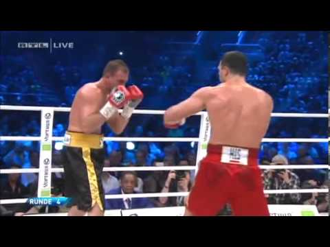 Wladimir Klitschko Vs.Francesco Pianeta Full Fight 6 Rounds KO