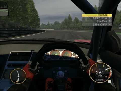 Race Driver GRID Honda NSX Racing in Spa Francochamp Ring