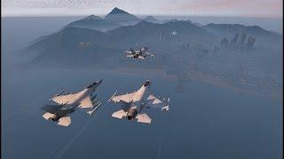 getlinkyoutube.com-【GTA5】 戦闘機アクロバット飛行隊 【PV】