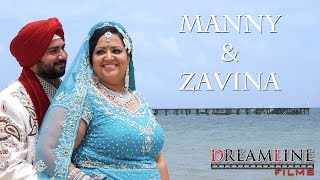 getlinkyoutube.com-Sikh Destination Wedding | Moon Palace, Cancun, Mexico | Manny & Zavina