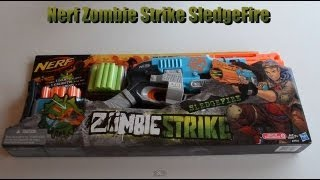 getlinkyoutube.com-~Unboxing~ NEW! Nerf Zombie Strike SledgeFire Unboxing Video ~Unboxing~