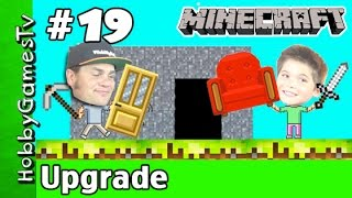 getlinkyoutube.com-Minecraft HobbyPig Survival World 19 Hideout Upgrade HobbyGamesTV
