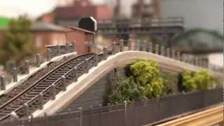 getlinkyoutube.com-Train miniature HO Chalindrais 2 0 n°35