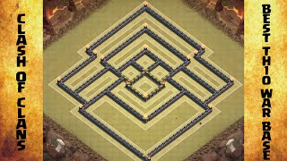 getlinkyoutube.com-Clash Of Clans Best Th10 War Base with Replays!