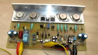 SPA200K diy Audio Amplifier 2x200W