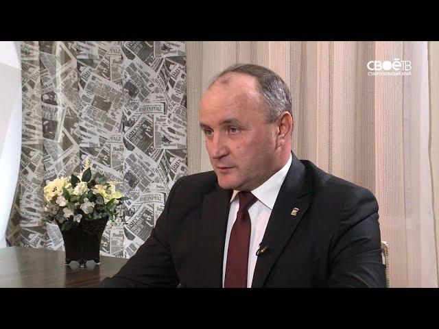 СТВ: Актуальное интервью с заместителем председателя комитета Проскуриным Олегом Ивановичем