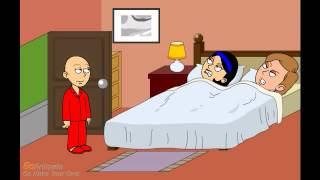 getlinkyoutube.com-Caillou wakes his parents up/ grounded